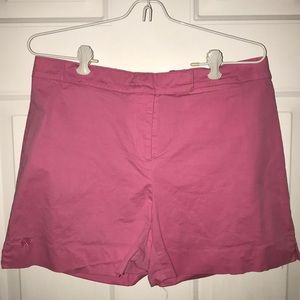 Lilly Pulitzer shorts.